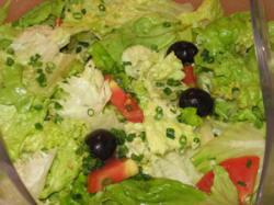 blattsalate mit thunfisch